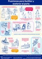 POSICIONES para facilitar y acelerar el parto
